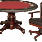 Berner Billiards 60 L Poker Table Set Wayfair