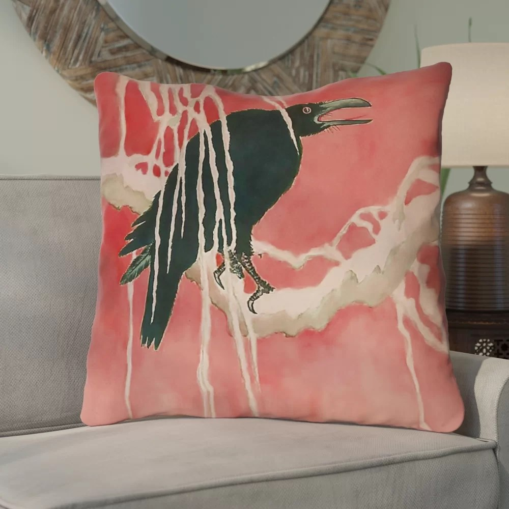 Euro Furniture Montreal Montreal Crow And Willow Square Euro Pillow