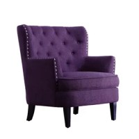 Purple Accent Chairs You'll Love   Wayfair