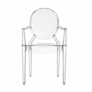 ghost chairs cheap modern arm clear acrylic wayfair quickview