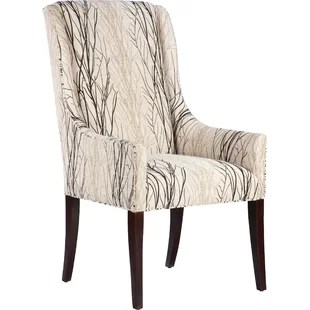 high back dining chair design dimensions extra tall chairs wayfair upholstered