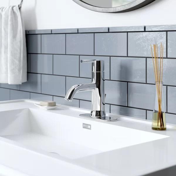 wide set bathroom faucet