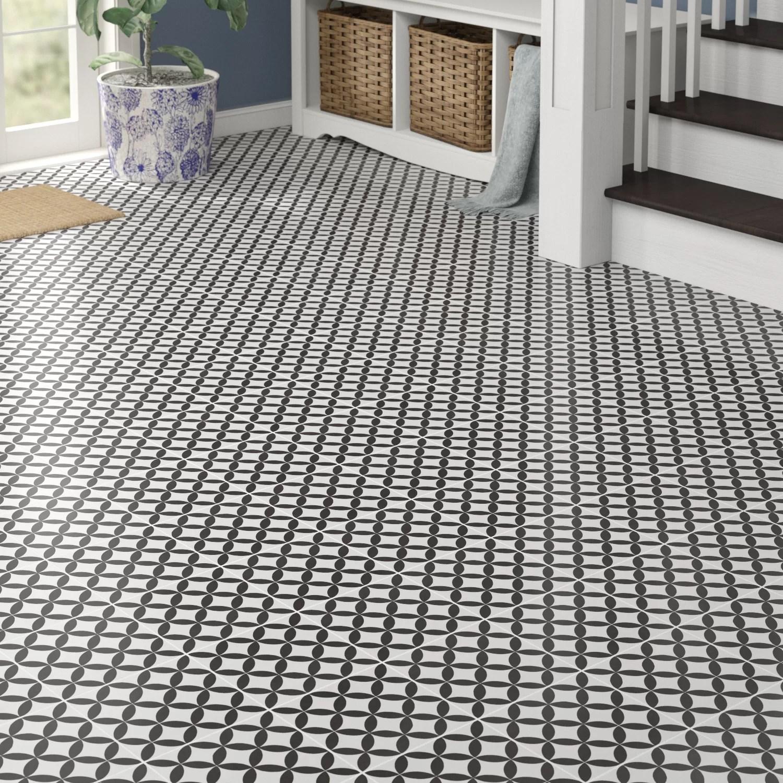 encausto 8 x 8 porcelain field tile
