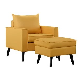 accent chair yellow satin covers rental naperville il mustard wayfair quickview