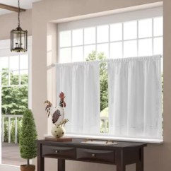 Kitchen Cafe Curtains Ikea Cabinets Cost Tier Wayfair Quickview