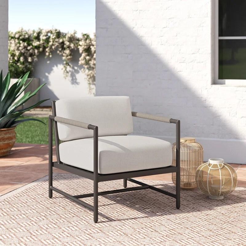 abena patio chair with sunbrella cushions