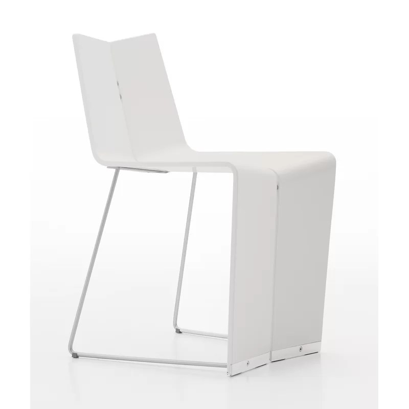 Colletti Geovan Side Chair Color: White