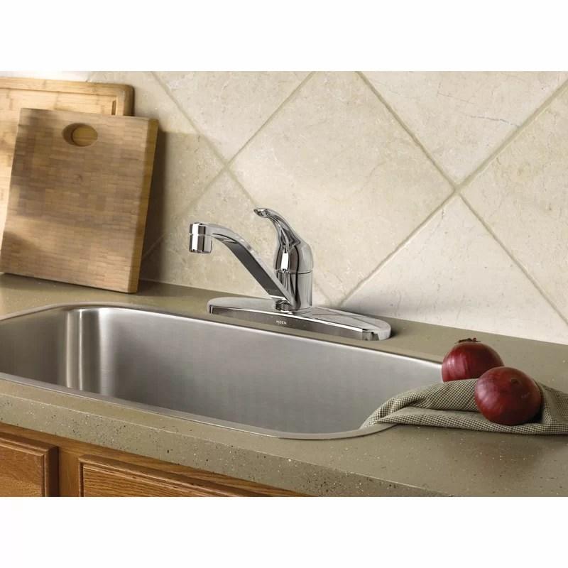 adler single handle kitchen faucet