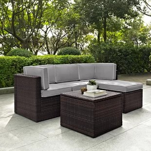 Belton 5 Piece Sectional Set with Cushions