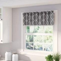 Curtains Kitchen Backsplash Subway Tile Valances Joss Main Winnett Light Filtering 50 Curtain Valance