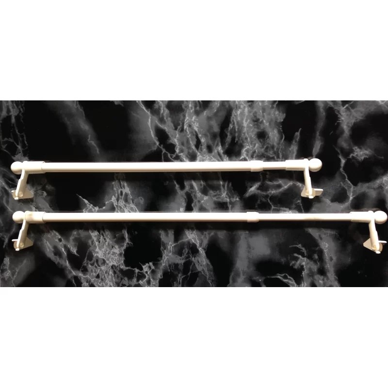 twist and fit tension curtain rod