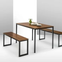 Contemporary Kitchen Tables Kitchens And Baths Modern Dining Room Sets Allmodern Walser 3 Piece Table Set