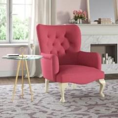 Bedroom Chair Pink Soccer For Seniors Lilac Wayfair Co Uk