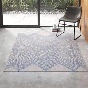 joliet chevron polypropylene blue off white indoor outdoor use area rug