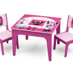 3 Piece Table And Chair Set Swivel Price Philippines Delta Children Minnie Mouse Kids Reviews Wayfair