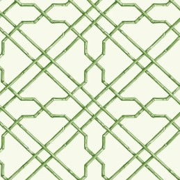 "Ashford Tropics 27' x 27"" Trellis Wallpaper Roll"