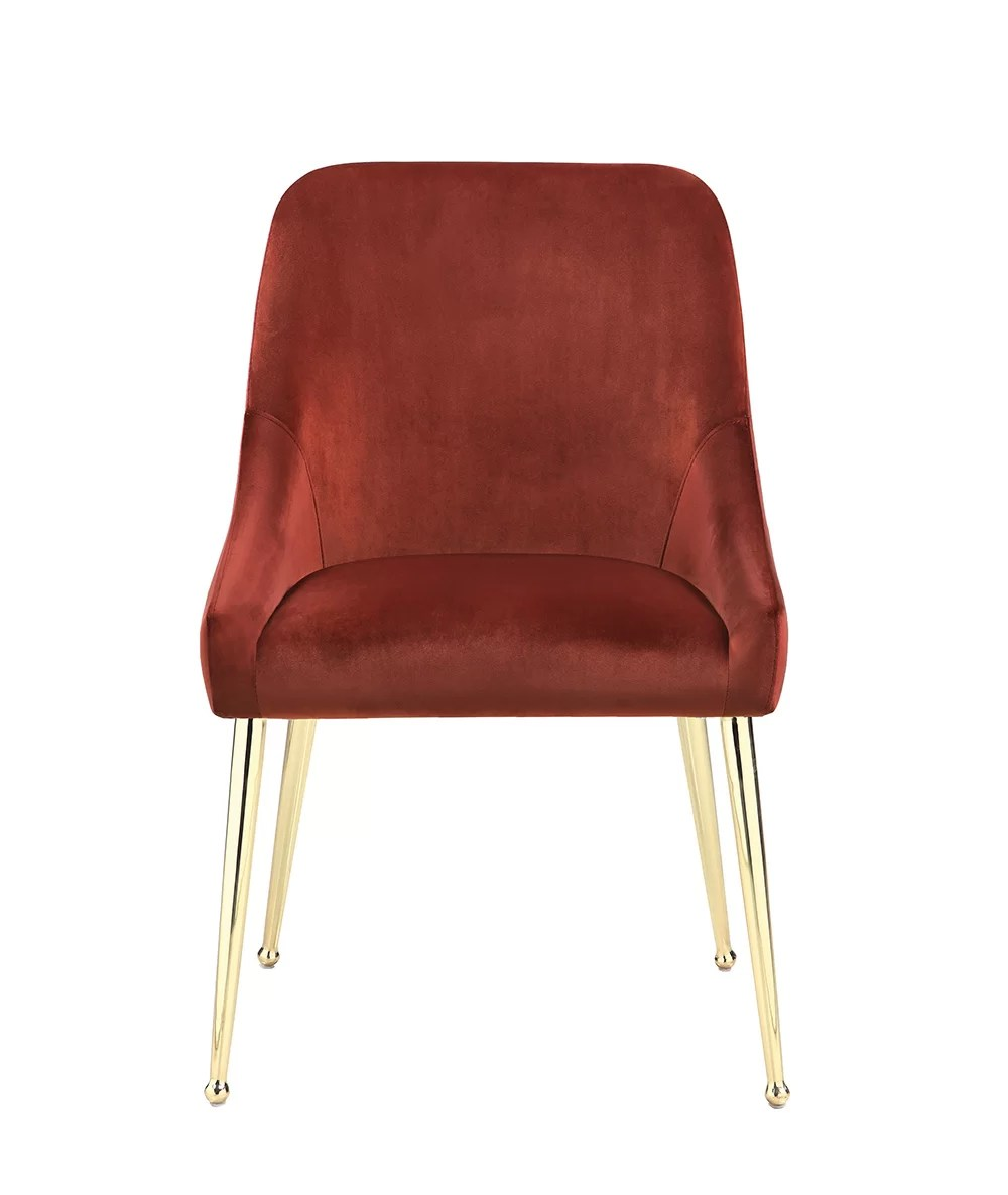 Red Upholstered Dining Chairs Chilmark Upholstered Dining Chair