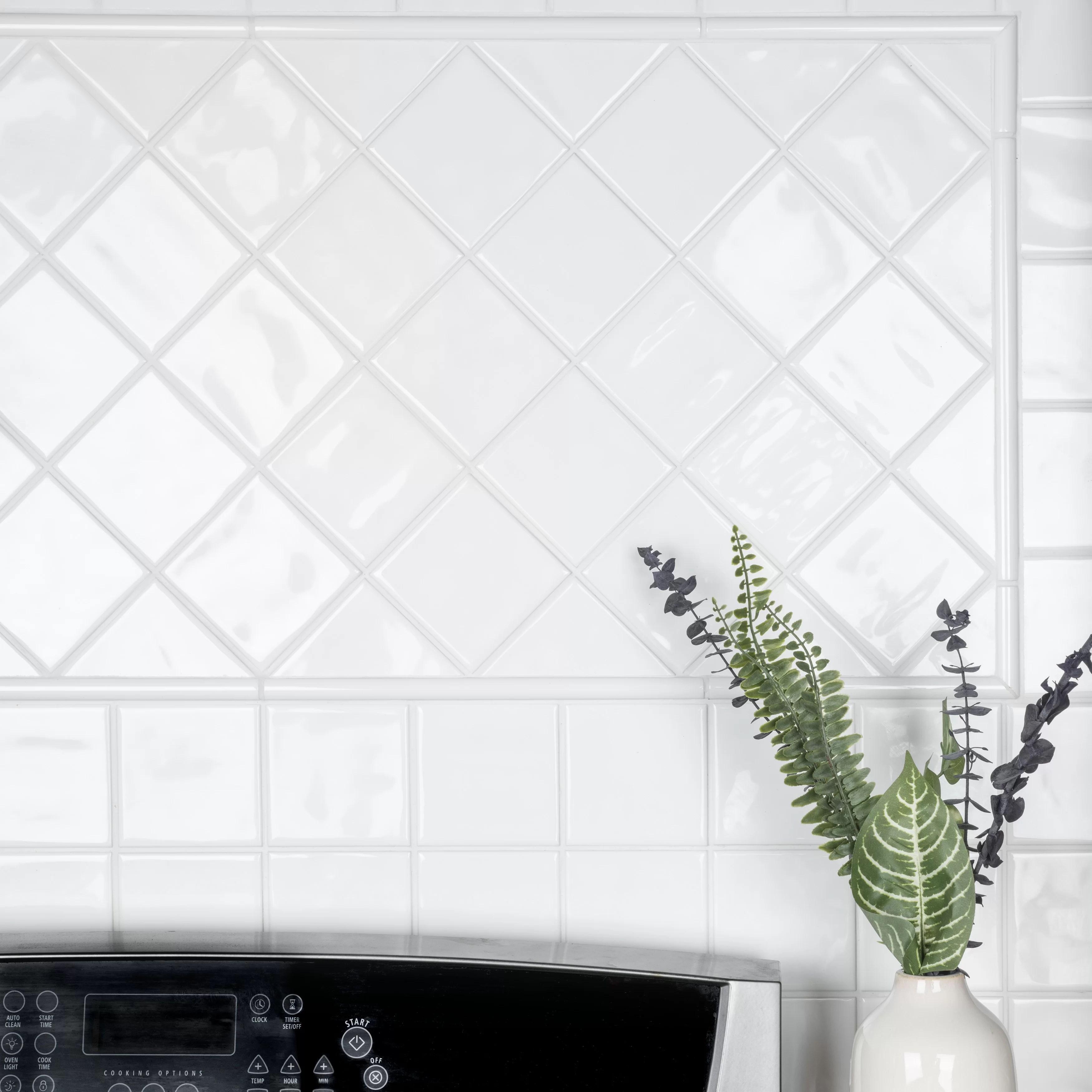 twist 11 8 x 0 5 glossy ceramic quarter round tile trim in white