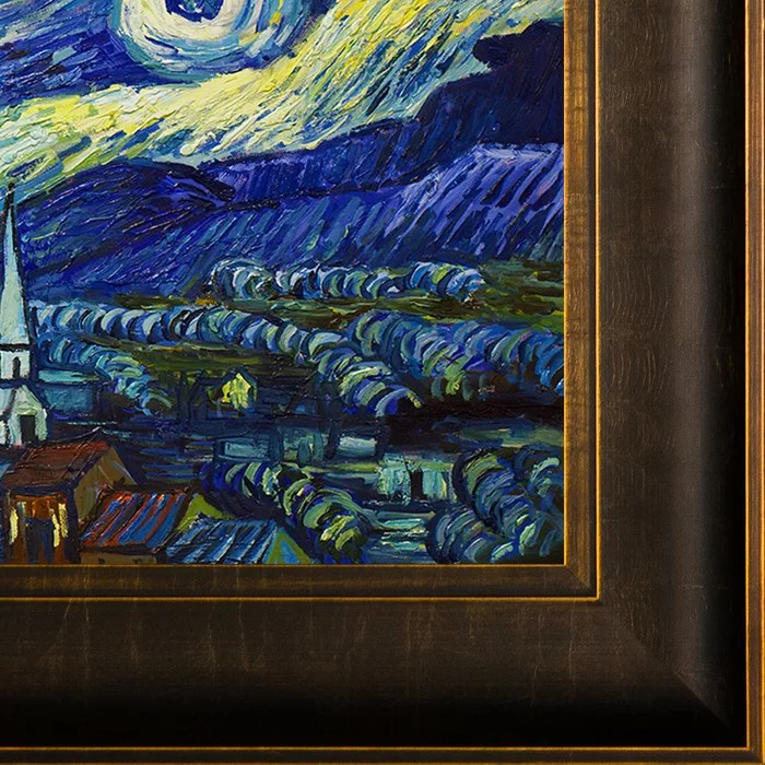 starry night by vincent