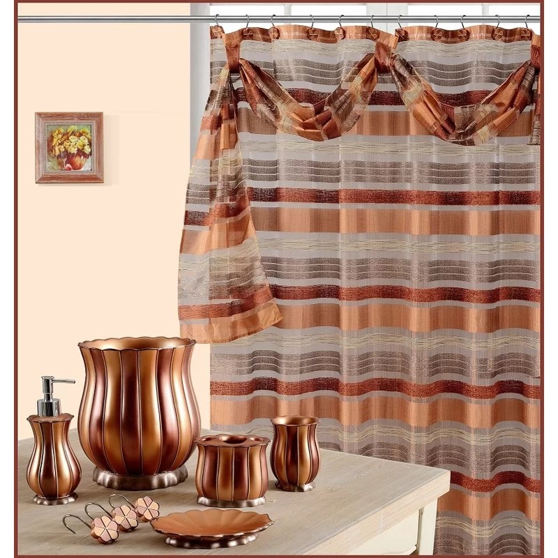 anette single shower curtain