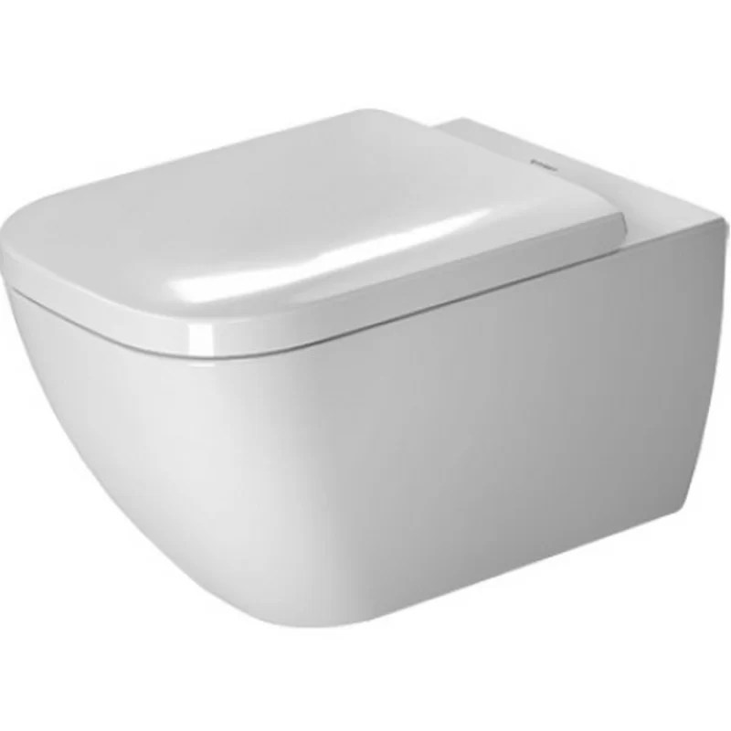 Happy D.2 Wall Mounted Washdown Rimless 1.6 GPF Elongated Toilet Bowl (Seat Not Included)