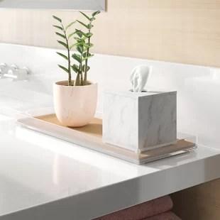 Wood Bathroom Accessories Wayfair