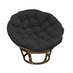 swivel chair cushions ergonomic delhi papasan cushion wayfair lounge