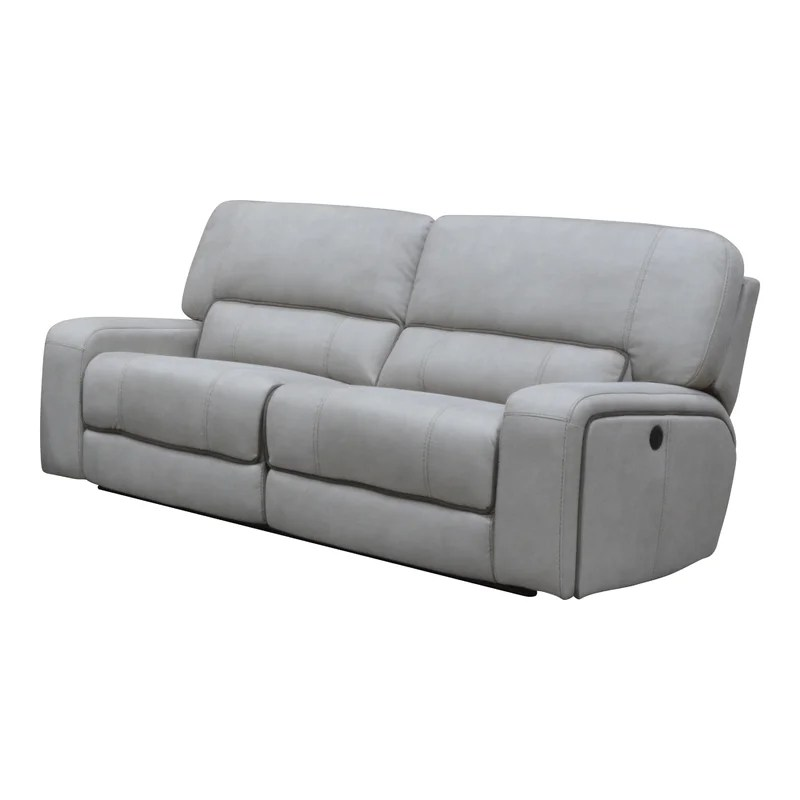 aleverson 87 wide pillow top arm reclining sofa