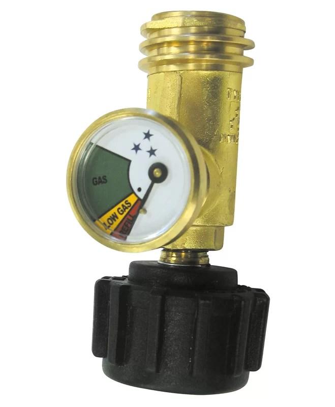 Grill Pro Gauge Gas Watch Tank