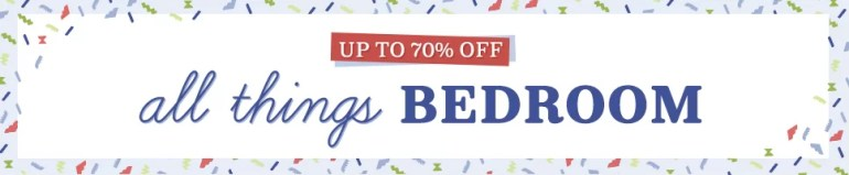 Bedroom Sale (June 2018)
