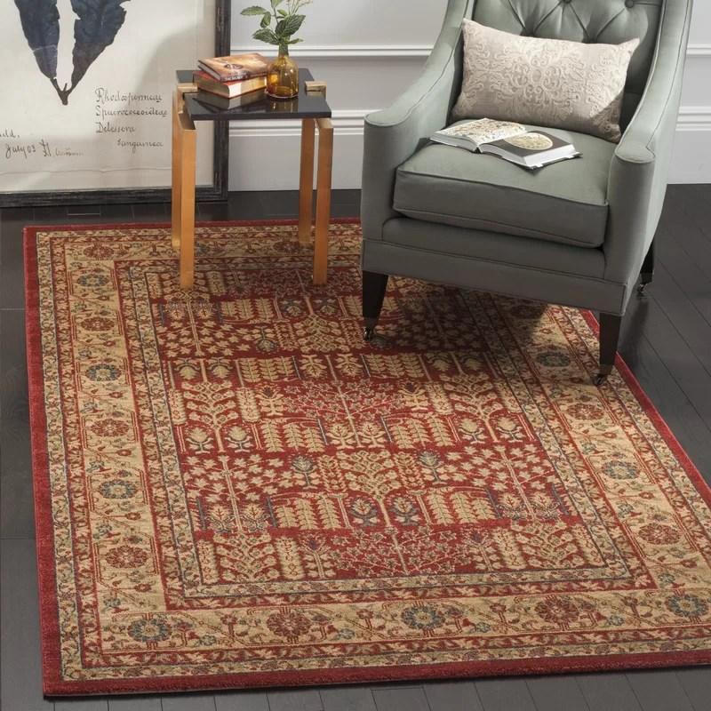 tapis rouge de style oriental pennypacker