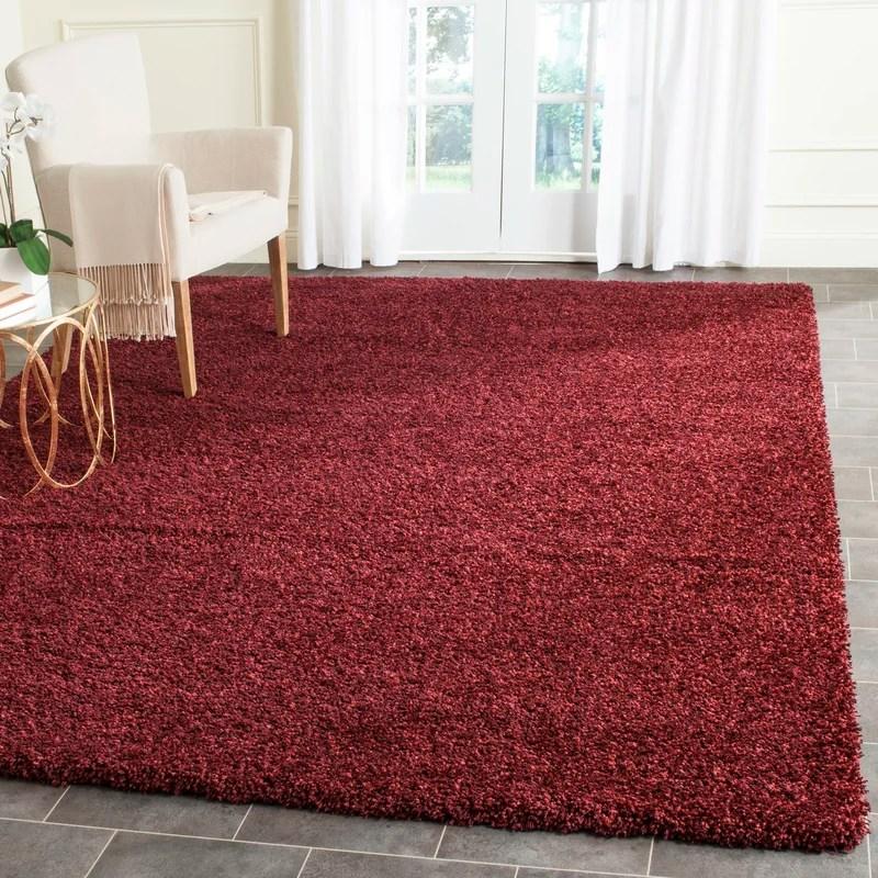 maroon area rug