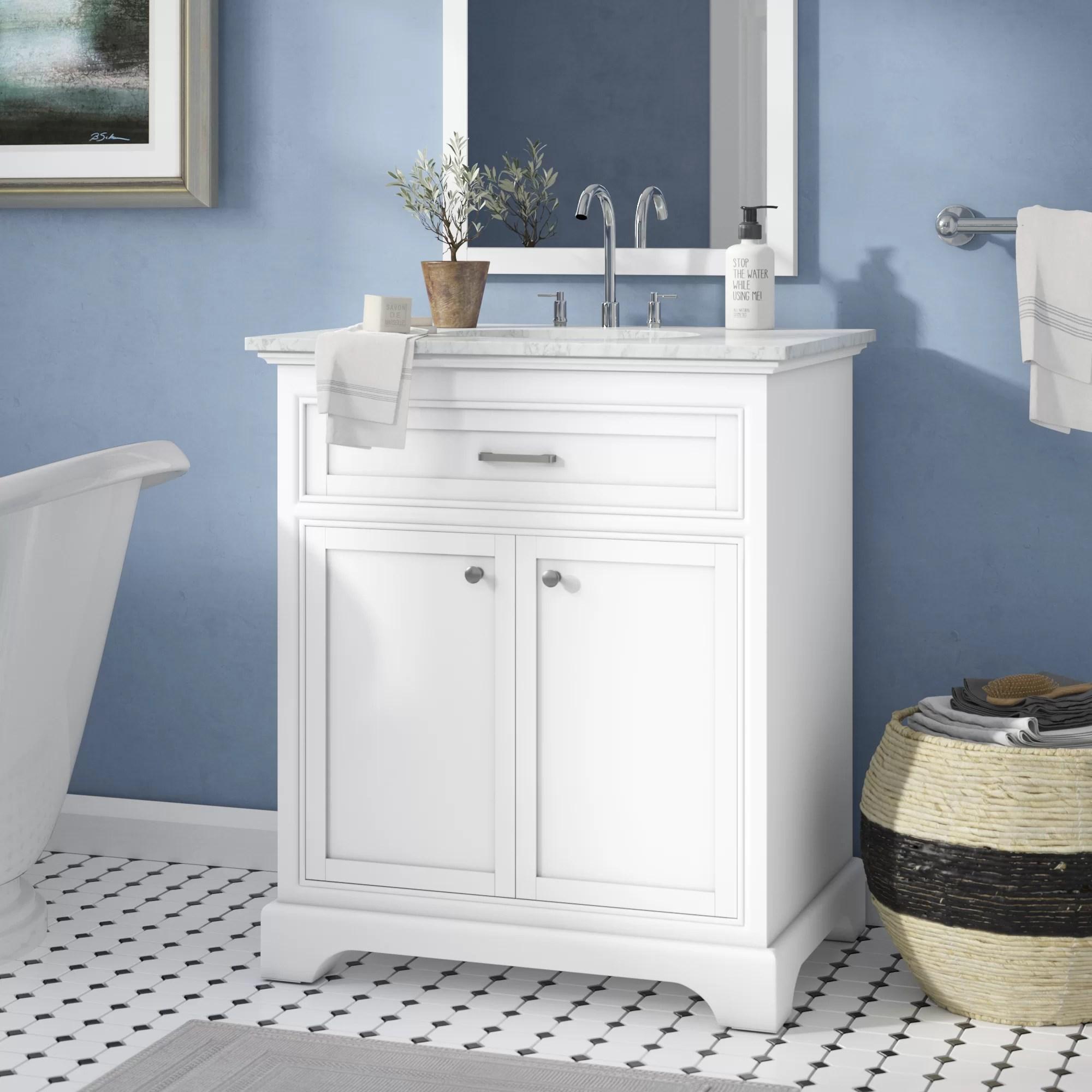 Darby Home Co Darry 30 Single Bathroom Vanity Set Reviews Wayfair