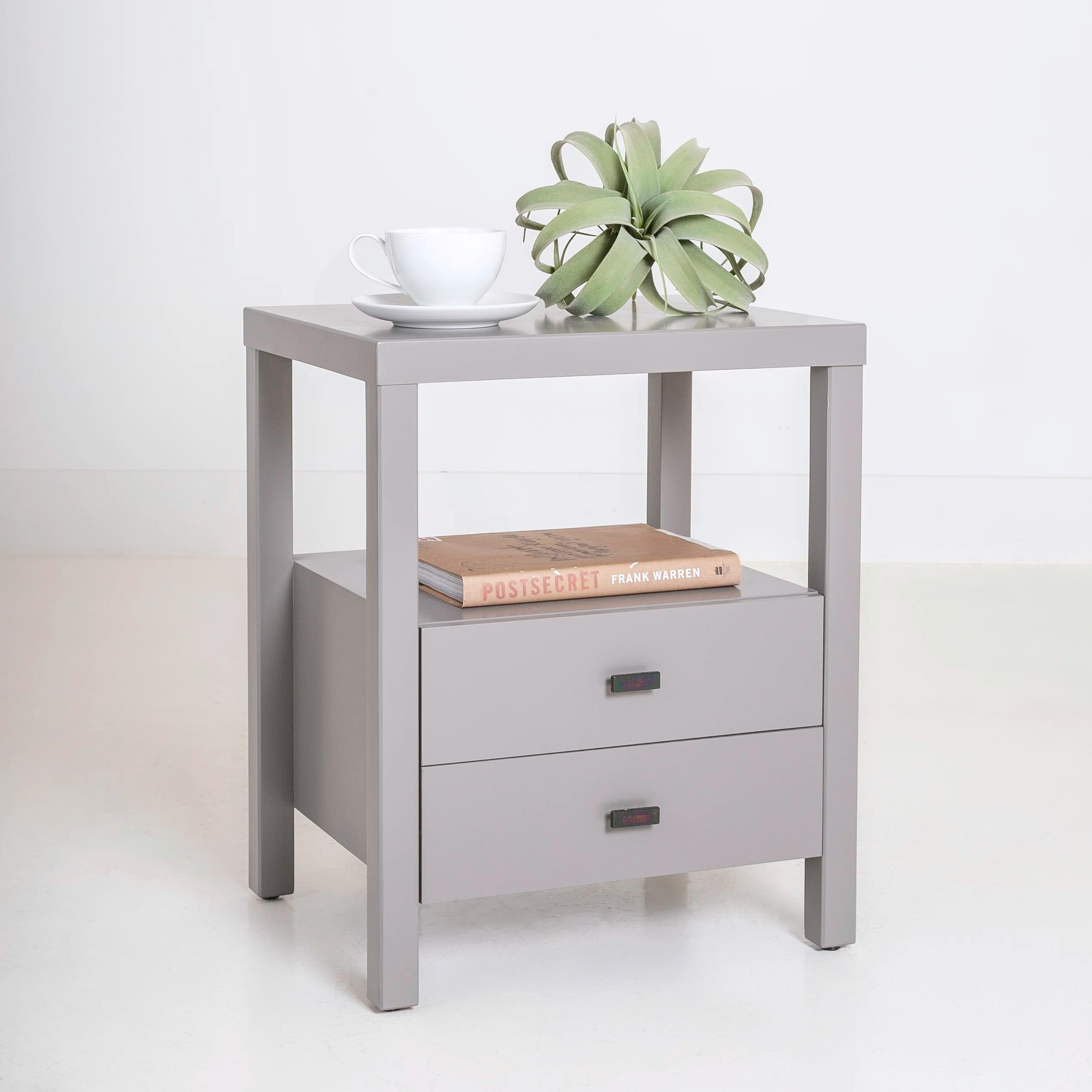 Leflore Solid Wood 2 Drawer End Table With Storage Reviews