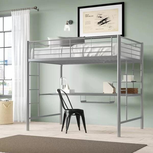 bunk bed w desk