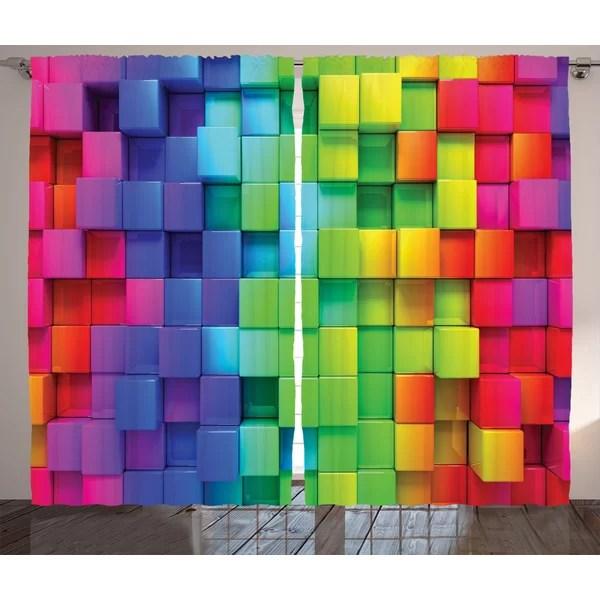 huntington home rainbow curtains