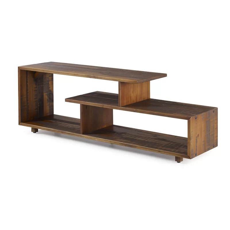 carrasco solid wood tv stand for tvs up to 65