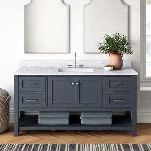 warburton 60 single bathroom vanity set
