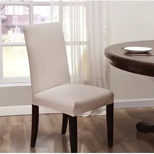 dining chair covers weave rope bottom kitchen you ll love wayfair quickview
