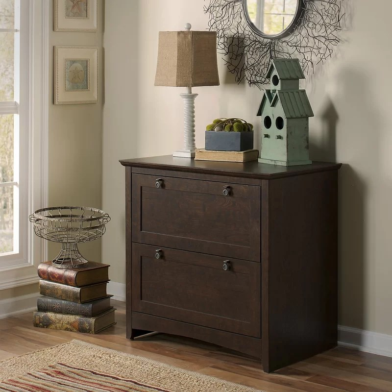 Four Drawer Wooden Lateral Filing Cabinets