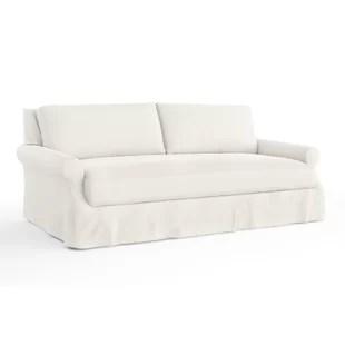 beach print sleeper sofas sofa co costa mesa patterned printed you ll love wayfair dieter slipcovered
