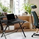 Mind Reader Bedside Workstation Folding Nightstand Writing Desks