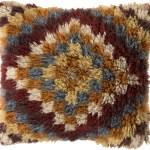 Union Rustic Andreas Of Diamond Wool Throw Pillow Wayfair