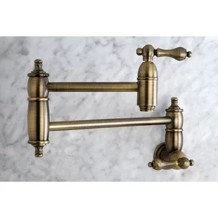 brass faucet kitchen floor tile installation cost faucets you ll love wayfair quickview polished chrome