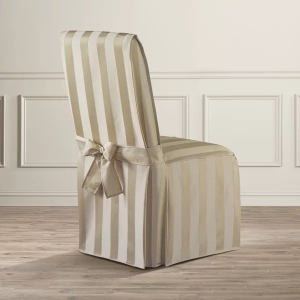 grey parson chair slipcovers salon sink and astoria grand polyester slipcover reviews wayfair