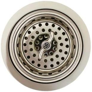 kitchen drain 3 compartment sink drains you ll love wayfair quickview