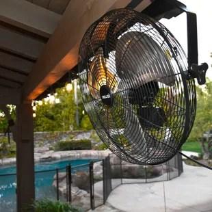 newair 18 wall mounted fan