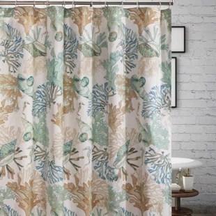 lucas seashell single shower curtain