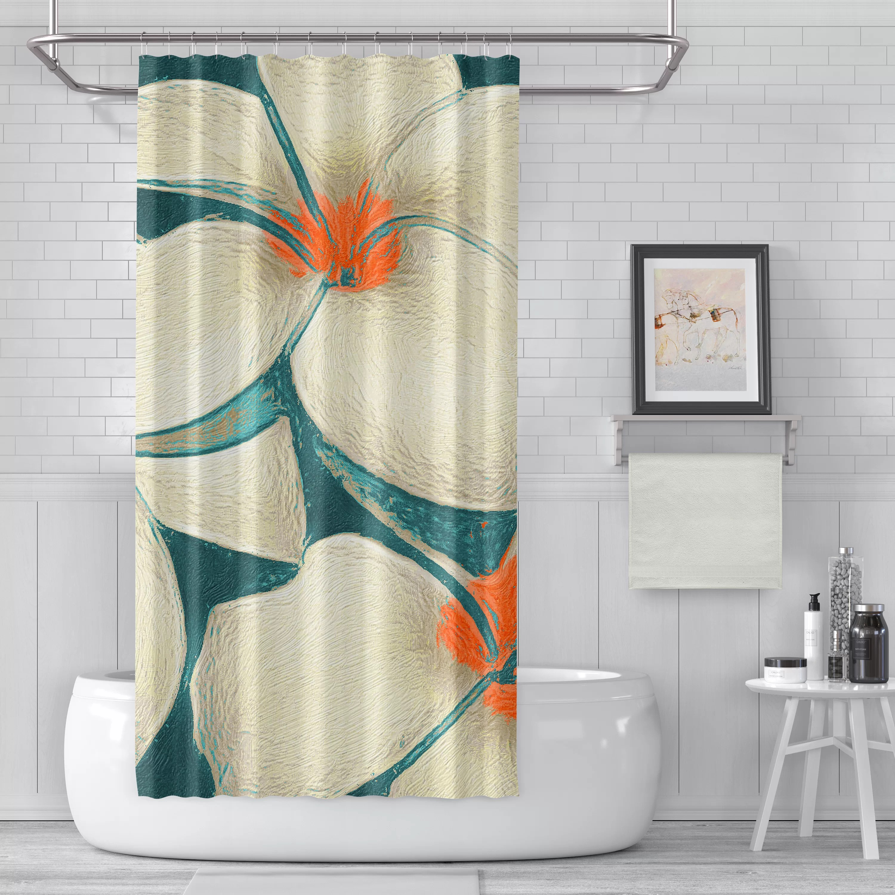 Myers Luxury Single Shower Curtain