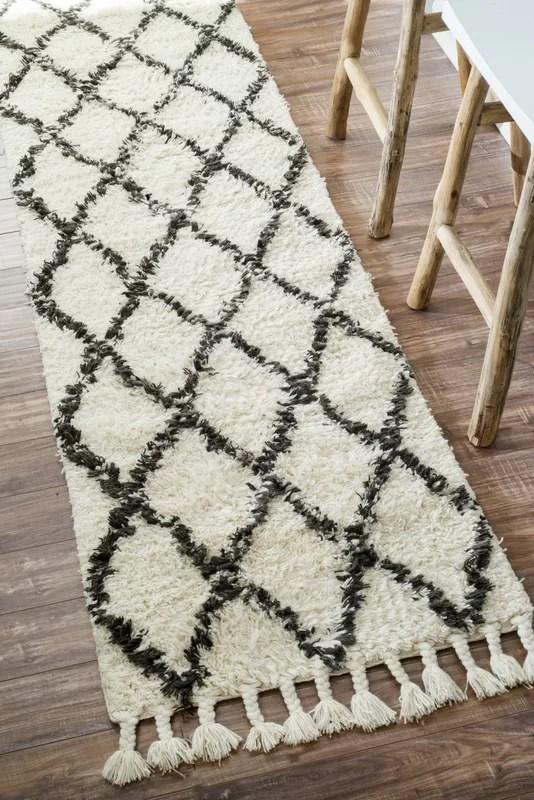 Langley Street Twinar HandKnotted Wool Off WhiteDark